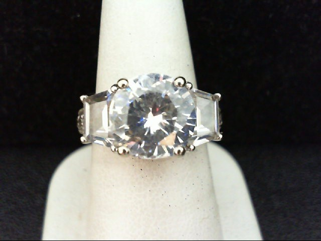Lady's Silver Ring 925 Silver 6.8g