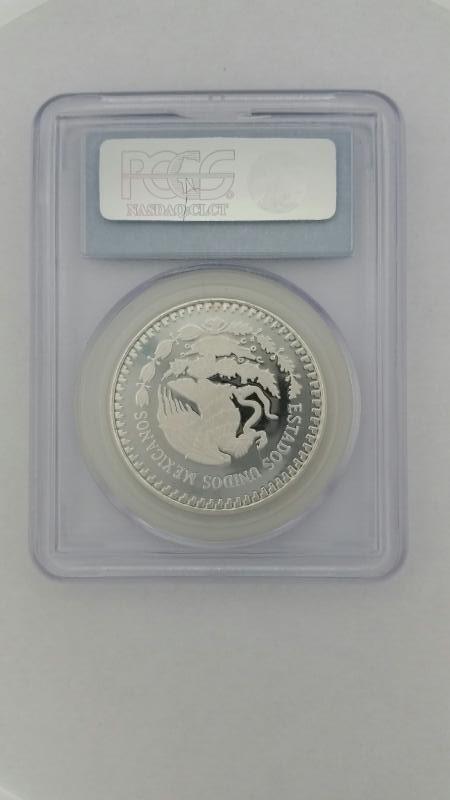 1986 MO Mexican Libertad 1oz 1onsa Silver PCGS PR69DCAM 1