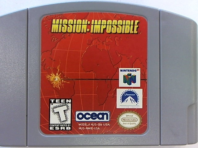 NINTENDO N64 MISSION IMPOSSIBLE