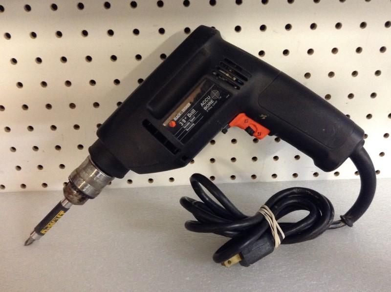 BLACK&DECKER Corded Drill 7193