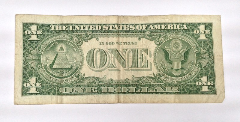 UNITED STATES 1957B 1.00 DOLLAR SILVER CERTIFICATE
