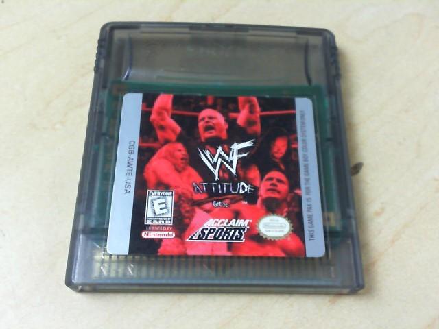 NINTENDO Vintage Game WWE ATTITUDE