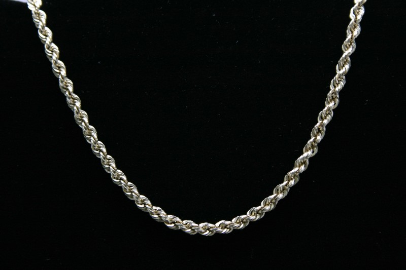 "22"" ROPE STYLE CHAIN 10K YELLOW GOLD"
