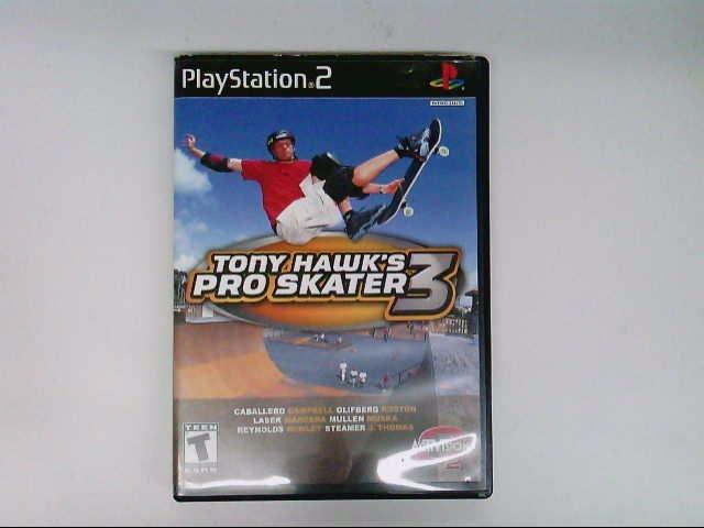 SONY PS2 TONY HAWKS PRO SKATER 3