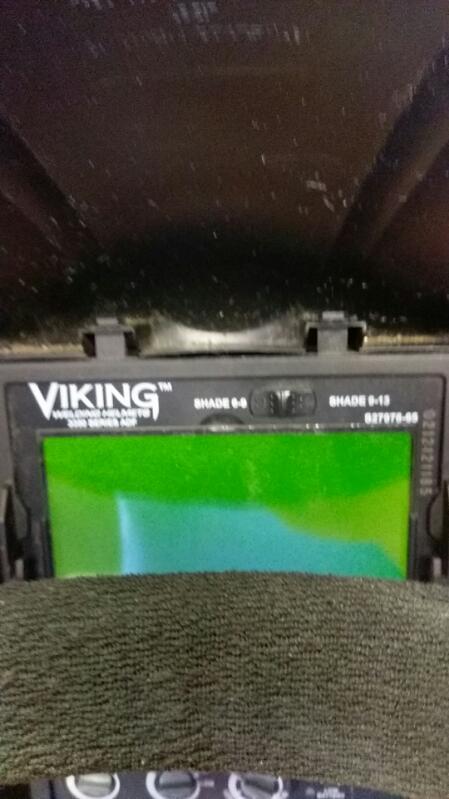 LINCOLN ELECTRIC VIKING 3350 WELDING HELMET RED/BLACK