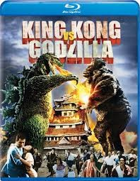 BLU-RAY MOVIE Blu-Ray KING KONG VS GODZILLA