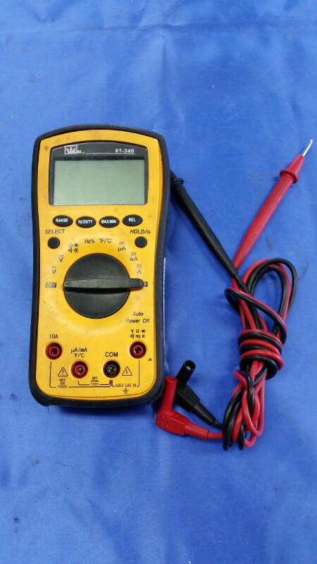 IDEAL INDUSTRIES Multimeter 61-340