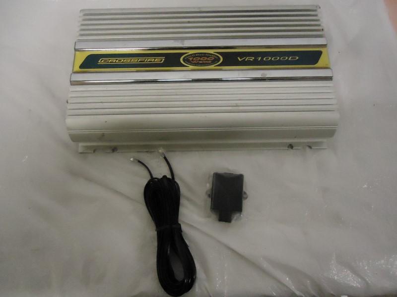 CROSSFIRE CAR AUDIO Car Amplifier VR1000D