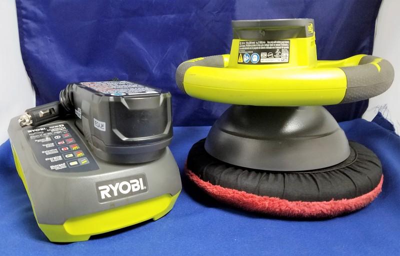 RYOBI ORBITAL BUFFER P435