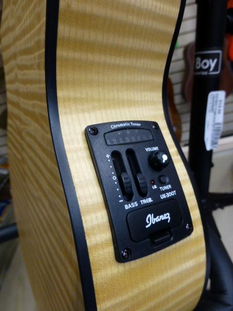 IBANEZ UEW12E Acoustic-Electric Concert Ukulele