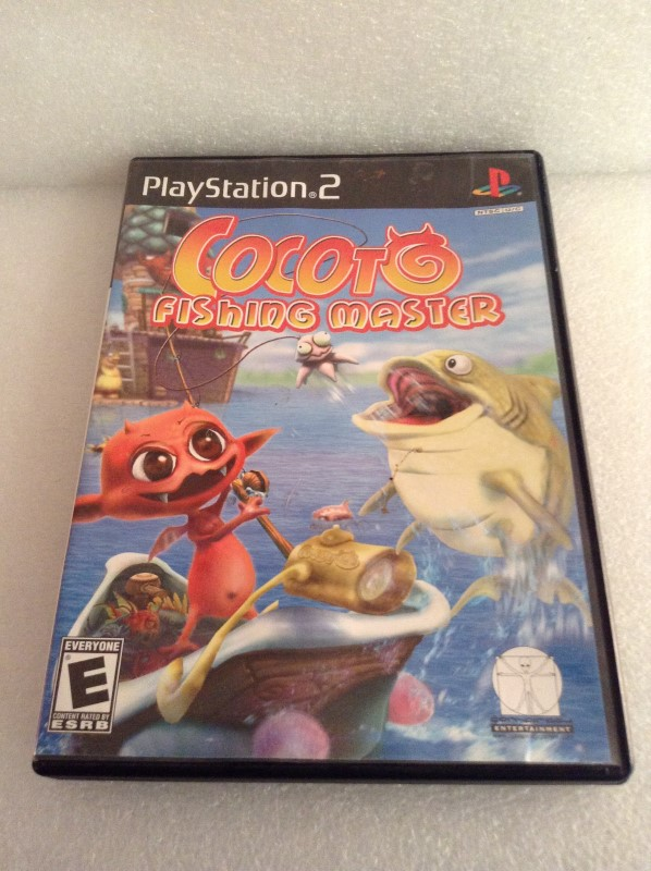 SONY Sony PlayStation 2 Game COCOT FISHING MASTER
