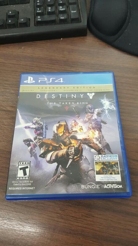 Destiny: The Taken King - Legendary Edition (Sony PlayStation 4, 2015) PS44