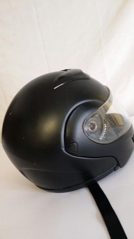 EXL MOTORCYCLE HELMET DOT SIZE LARGE]