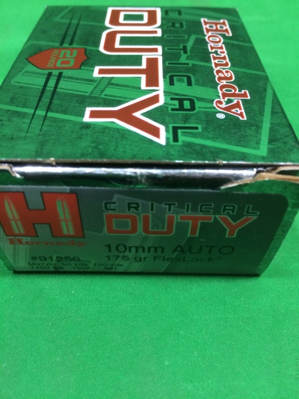 HORNADY Ammunition CRITICAL DUTY 10MM