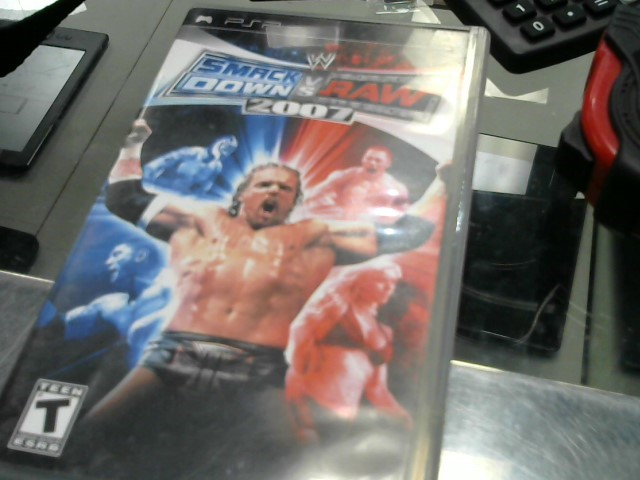 SONY Sony PSP Game SMACK DOWN VS RAW 2007 PSP