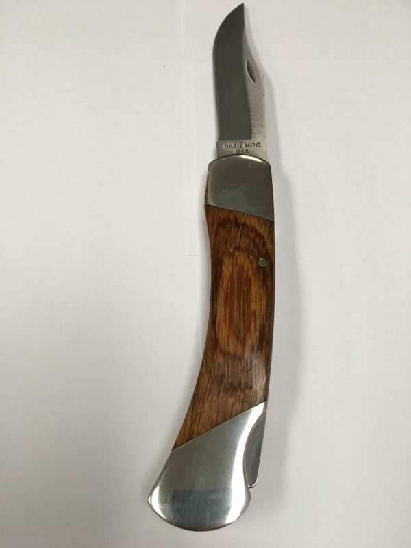BEAR & SON CUTLERY TRAPPER KNIFE, ONE BLADE.