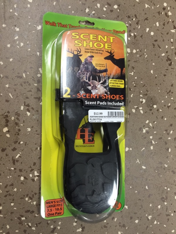 HUNTERS EDGE Outdoor Sports SCENT SHOE 643399543439