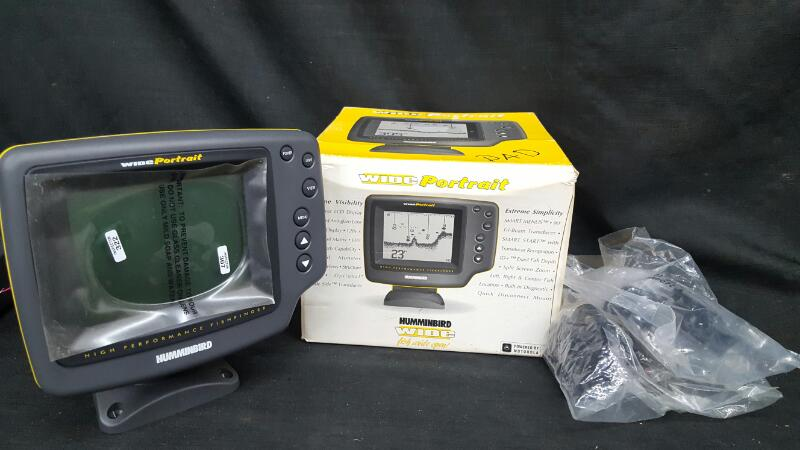 HUMMINBIRD Fish Finder WIDE PORTRAIT