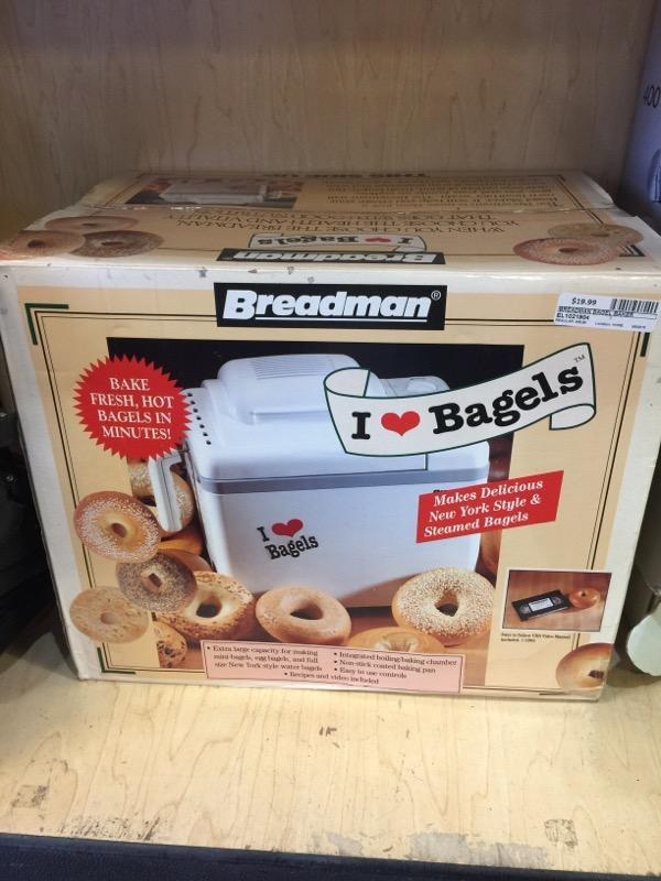 BREADMAN BAGEL BAKER