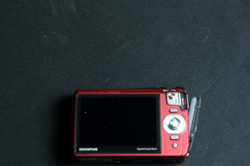 Olympus TG-820 12MP Shock/Water/Freeze-Proof Camera - Red