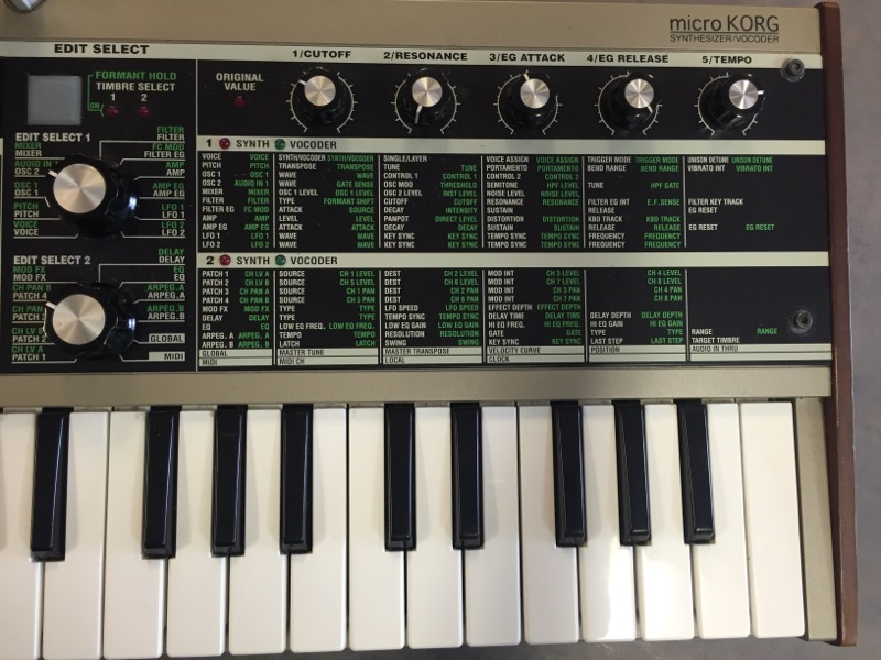 KORG Synthesizer MICROKORG