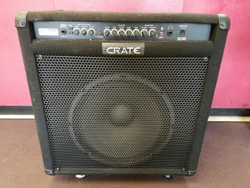 "Crate BT220 220W 1x15"" 2-Channel Bass Combo"