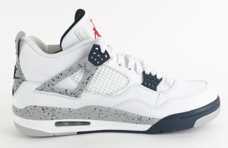 "NIKE Shoes/Boots AIR JORDAN 4 RETRO OG ""WHITE CEMENT 2016 RELEASE"""