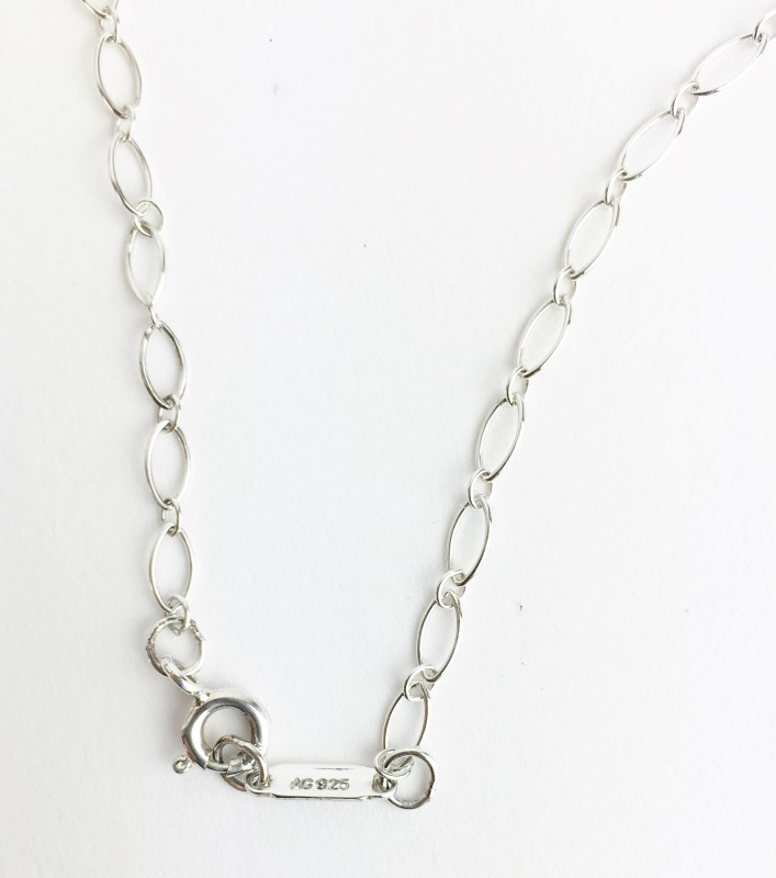 "Tiffany & Co. 16"" Silver Fashion Chain 925 Silver 1.78g"