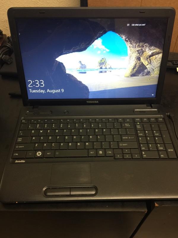TOSHIBA Laptop/Netbook C655D-S5192