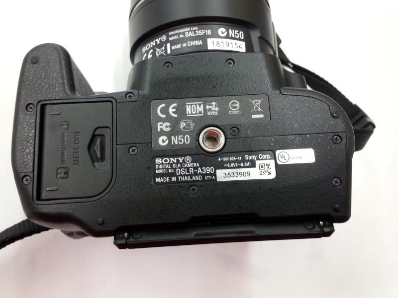 SONY Digital Camera A390