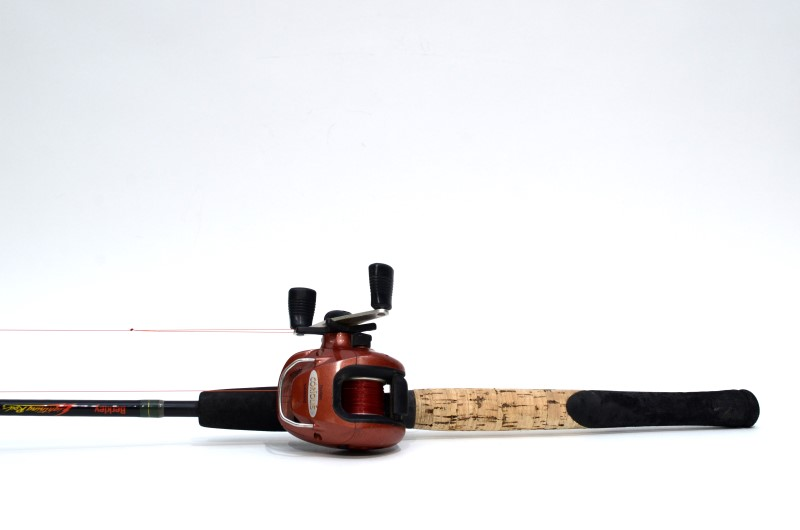 "BERKLEY LIGHTNING ROD 6'5.5"" FISHING ROD-SHIMANO BANTAM COROILIS REEL"