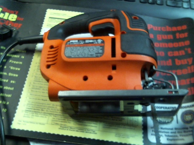 BLACK&DECKER Jig Saw BDEJS600C