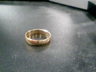 Gent's Gold Ring 10K Yellow Gold 1.9g