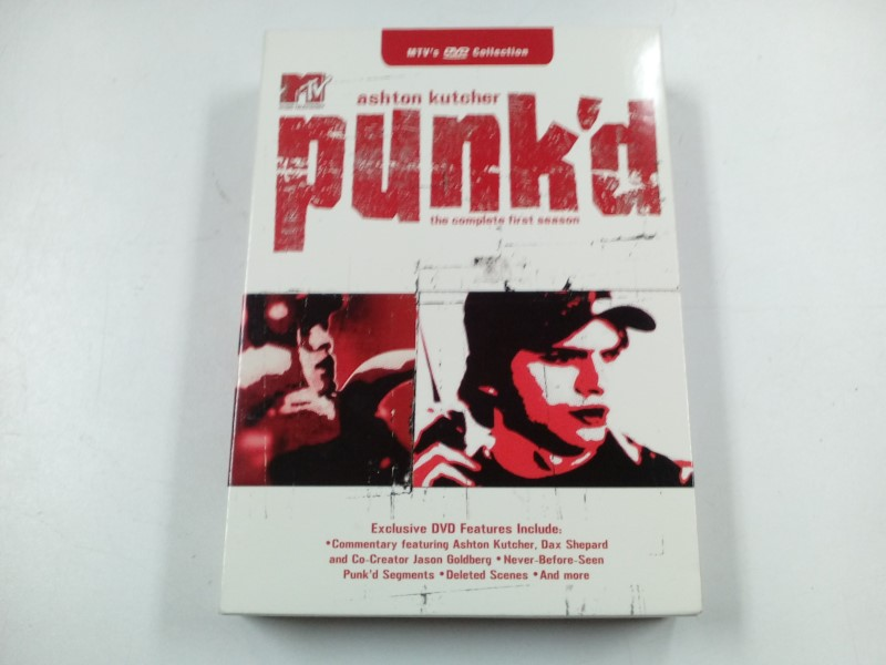 DVD BOX SET PUNK'D THE COMPLETE FIRST SEASON