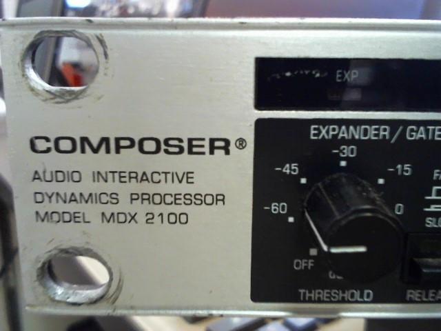 BEHRINGER DJ Equipment MDX2100