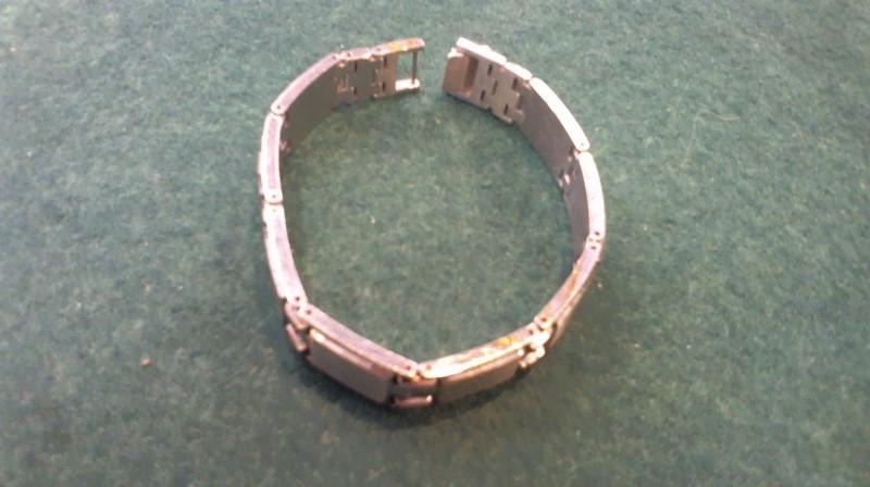 Bracelet Silver Stainless 55.2g