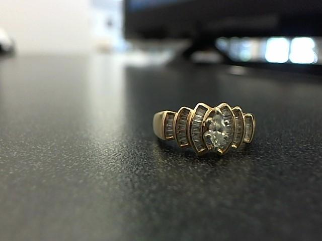Lady's Diamond Fashion Ring 41 Diamonds .50 Carat T.W. 10K Yellow Gold 3.5g