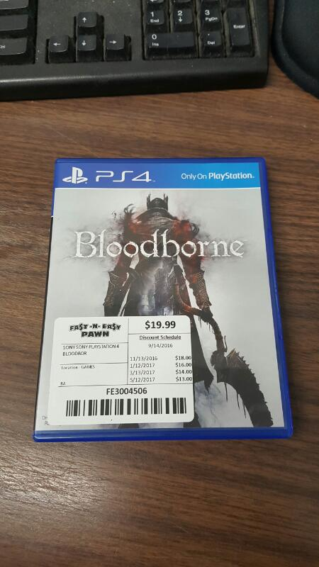 Bloodborne (Sony PlayStation 4, 2015) PS4