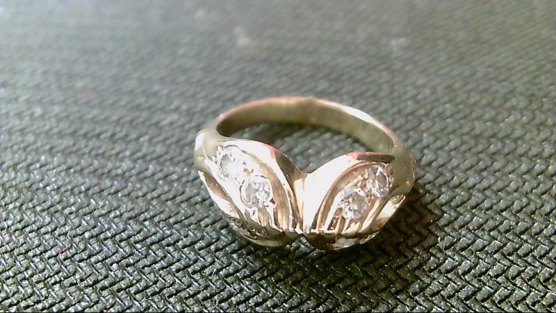 Lady's Diamond Fashion Ring 8 Diamonds .48 Carat T.W. 10K Yellow Gold 3.4g