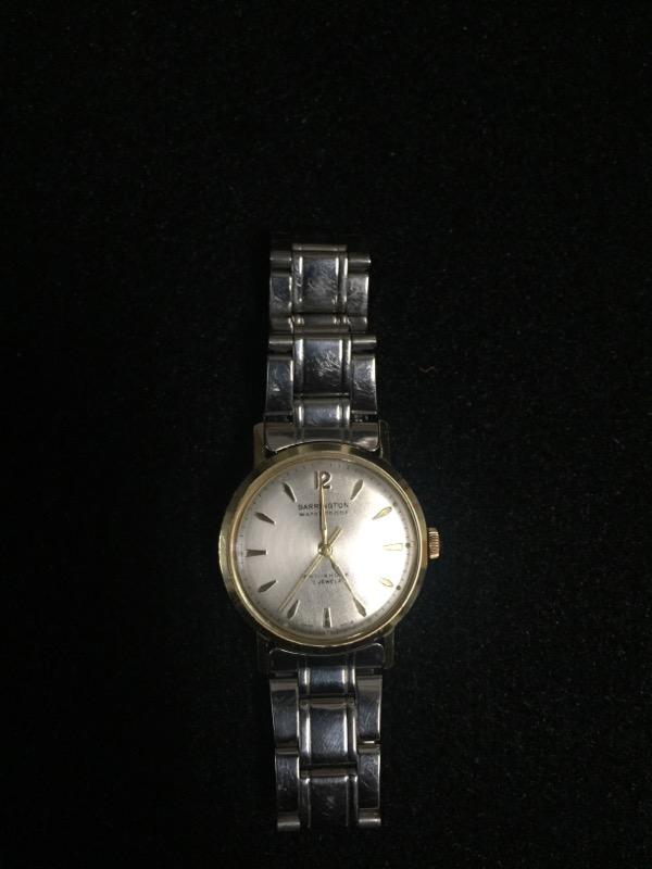 BARRINGTON Gent's Wristwatch WATERPROOF