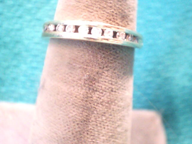 Lady's Diamond Wedding Band 10 Diamonds .20 Carat T.W. 14K Yellow Gold 1.4dwt