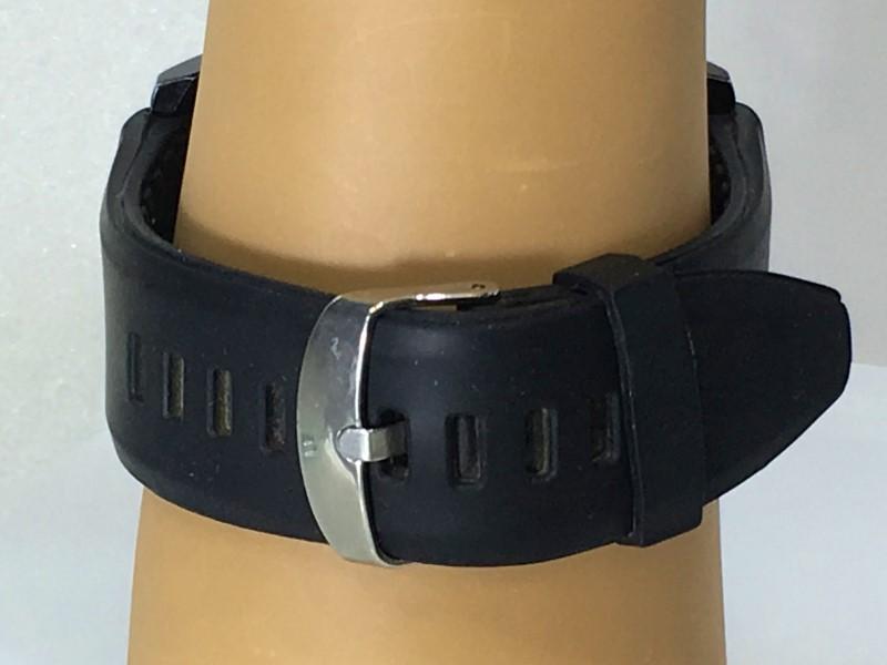 Geneva SW-88 Black & White Japan Movt Adjustable Band Watch