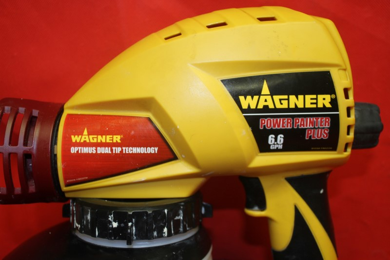 Wagner Power Painter Plus 6.6 handheld paint heavy duty airless spray rig Dewalt