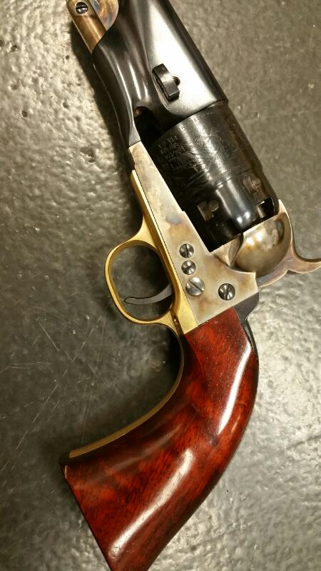 A. UBERTI Cap & Ball 1858 NEW ARMY