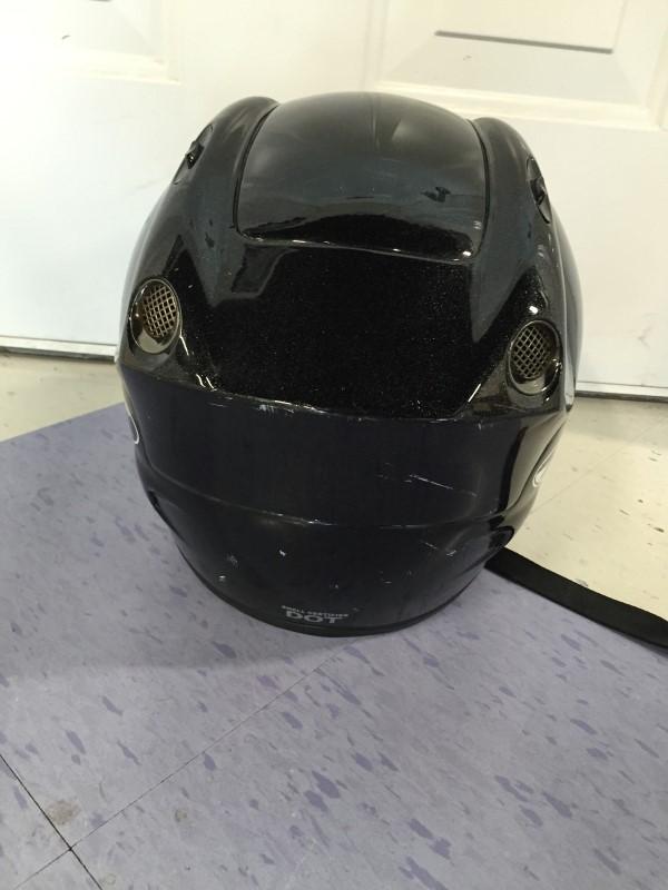 NITRO MOTORCYCLE HELMET (BLACK)