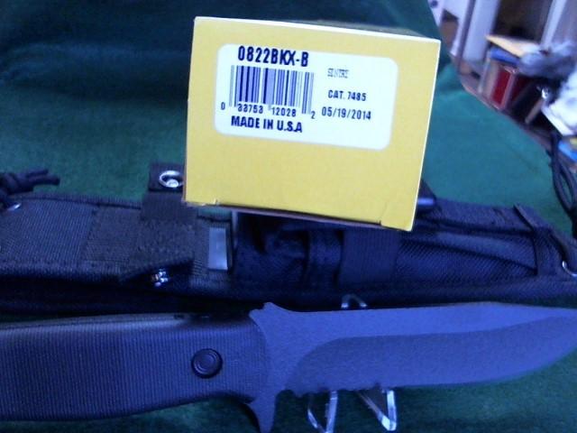 BUCK KNIVES Hunting Knife 0822BKX-B, Sentry