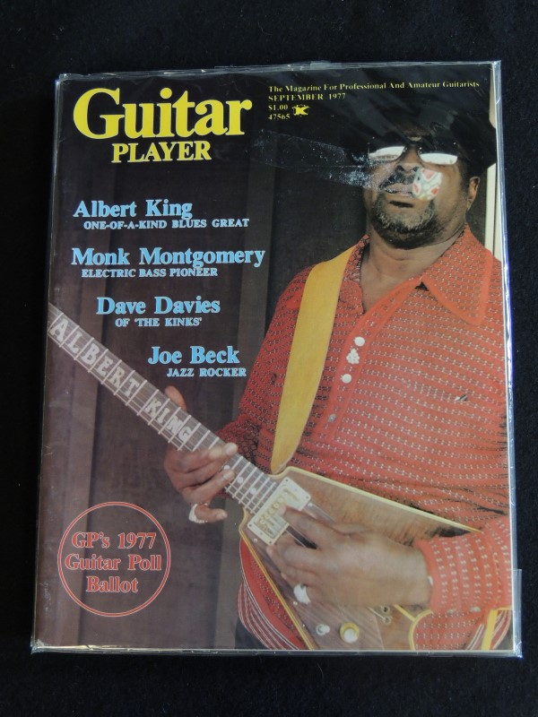 GUITAR PLAYER MAGAZINES LOT OF 4 1975 1977 HENDRIX WOOD KING
