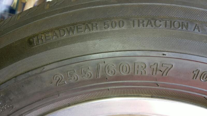 EDLEBROCK SET OF 4 TIRES W/RIMS MODEL 409 WHEEL