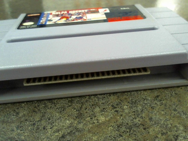 NINTENDO Nintendo SNES Game NHLPA HOCKEY 93