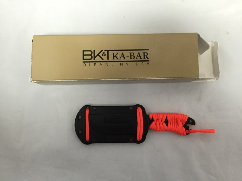 BK&T Ka-Bar Survival Knife & Original Box